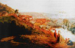 Kiez in Freienwalde   Antoine Pesne   Oil Painting