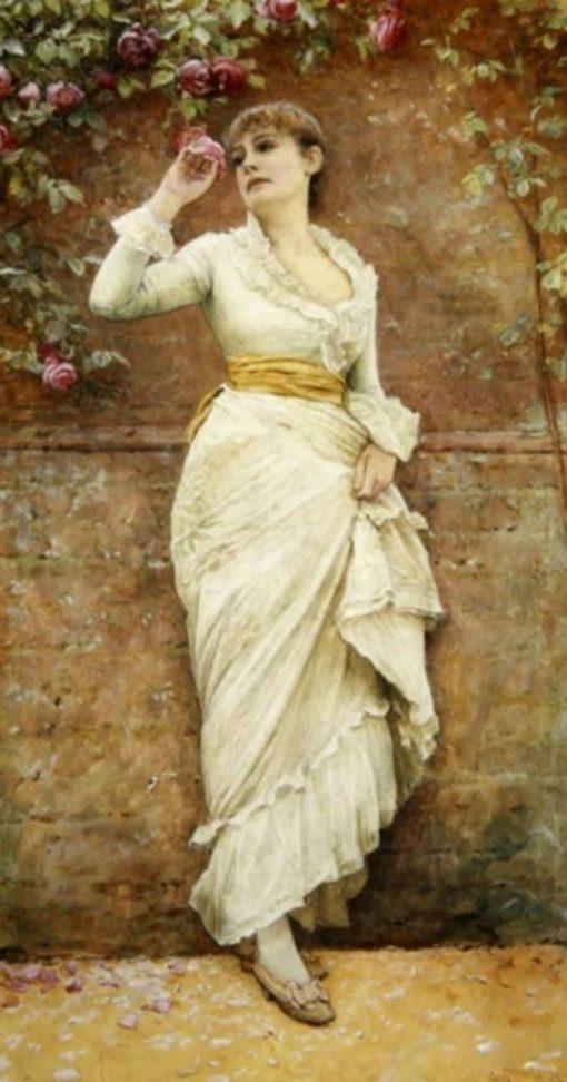 The Rose | Edward Killingworth Johnson | Oil Painting
