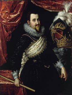 Portrait of Prince Christian IV of Denmark | Pieter Isaacsz | Oil Painting