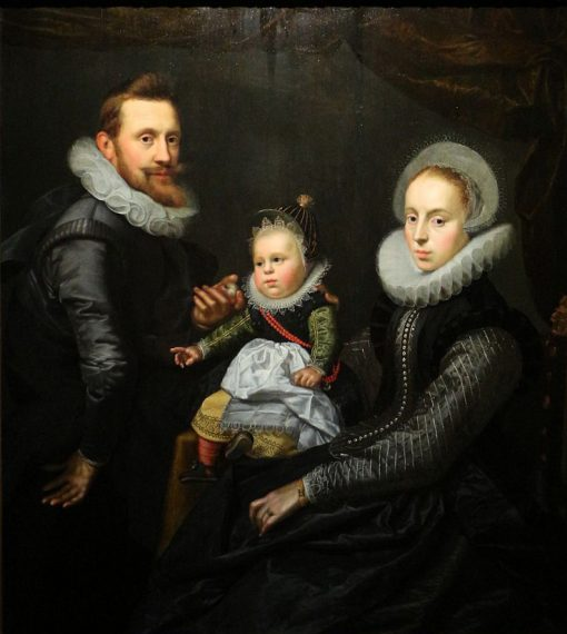 Family Portrait | Pieter Isaacsz | Oil Painting