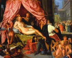 Allegory of Vanity | Pieter Isaacsz | Oil Painting