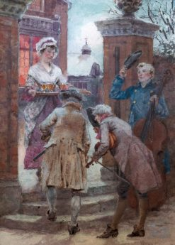 Christmas Cheer | Henry John Yeend King | Oil Painting