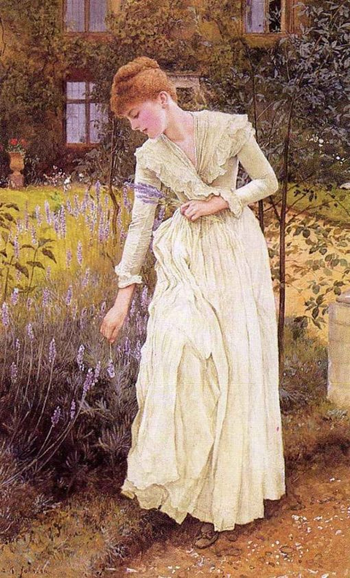 Lavender | Edward Killingworth Johnson | Oil Painting
