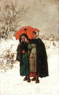 Christmas Morning | Henry John Yeend King | Oil Painting