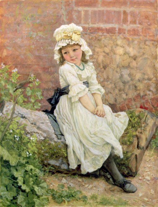 The New Friend   Edward Killingworth Johnson   Oil Painting