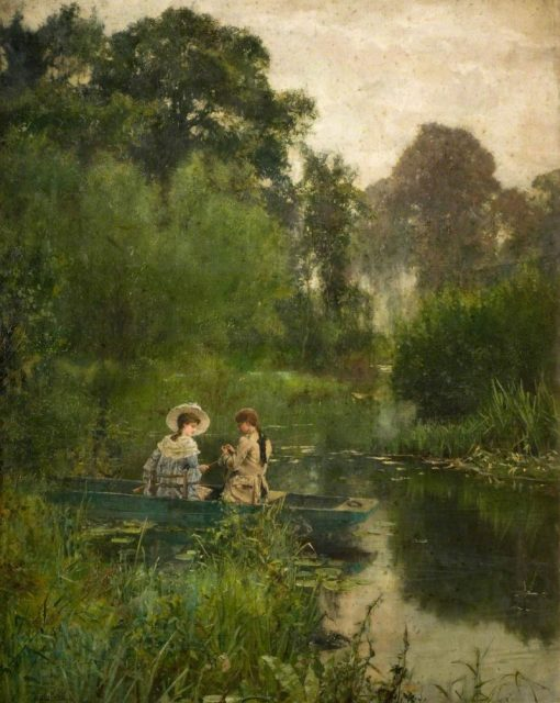 Courtship   Henry John Yeend King   Oil Painting