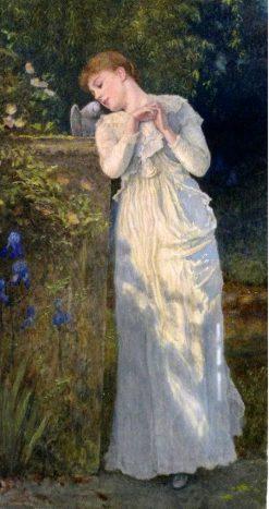 A symbol of love | Edward Killingworth Johnson | Oil Painting