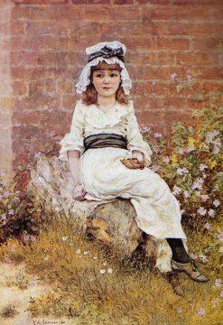Cherries | Edward Killingworth Johnson | Oil Painting
