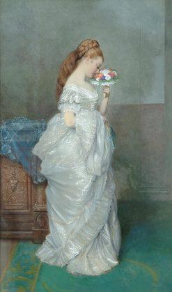 The Posy | Edward Killingworth Johnson | Oil Painting