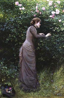 The Birds Nest | Edward Killingworth Johnson | Oil Painting