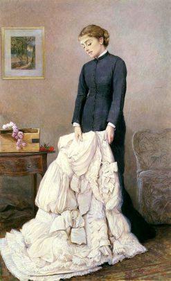 Young Widow | Edward Killingworth Johnson | Oil Painting