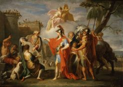 Alexander the Great Founding Alexandria | Placido Costanzi | Oil Painting