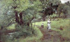 In Peaceful Days | Henry John Yeend King | Oil Painting