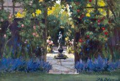 Sunlit Garden | Patrick William Adam | Oil Painting