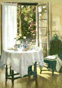 Morning in the studio | Patrick William Adam | Oil Painting