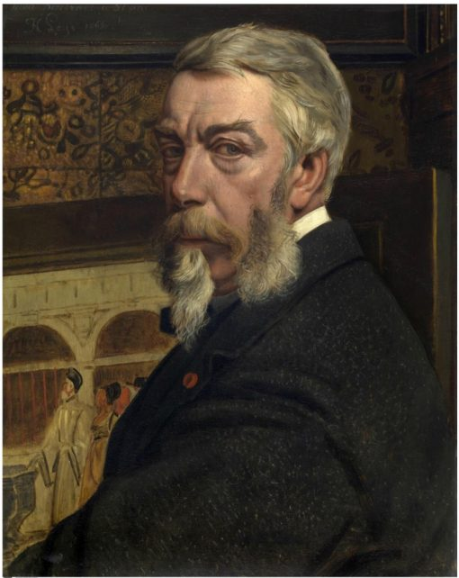 Self Portrait | Jan August Hendrik Leys | Oil Painting