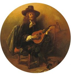 The singer | Jan August Hendrik Leys | Oil Painting