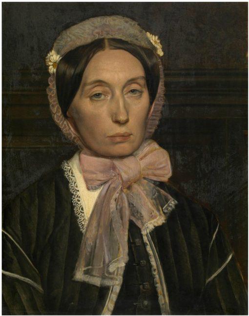 Madam Leys-Van Haren | Jan August Hendrik Leys | Oil Painting