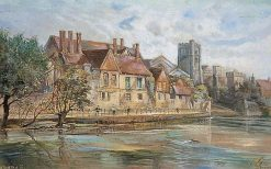 River Scene at Maidstone