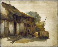 Farmhouse | Jan August Hendrik Leys | Oil Painting