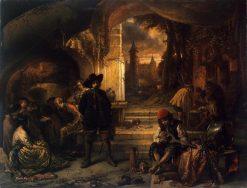 Guardroom | Jan August Hendrik Leys | Oil Painting