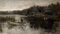 On the Upper Thames | Henry John Yeend King | Oil Painting