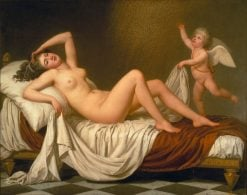 Danaë and the Shower of Gold | Adolf Ulrik Wertmuller | Oil Painting