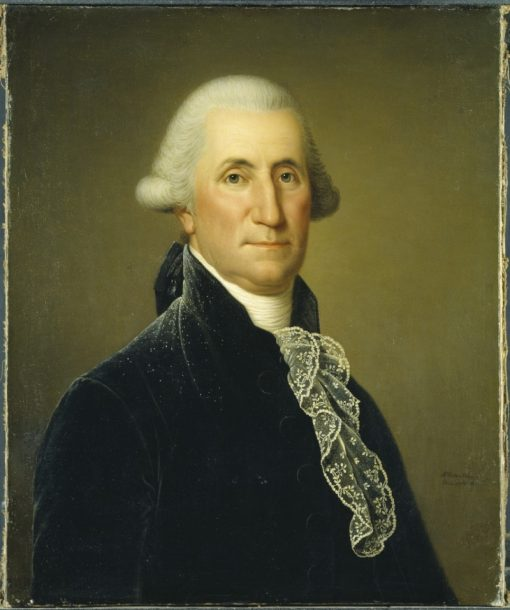 Portrait of George Washington | Adolf Ulrik Wertmuller | Oil Painting