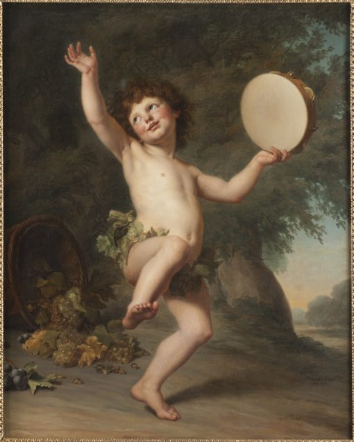 Cupid as Bacchus | Adolf Ulrik Wertmuller | Oil Painting