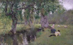Poet and Peasant   Henry John Yeend King   Oil Painting