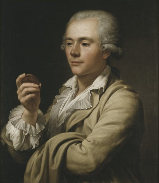 The Medal Engraver Lars Grandel   Adolf Ulrik Wertmuller   Oil Painting