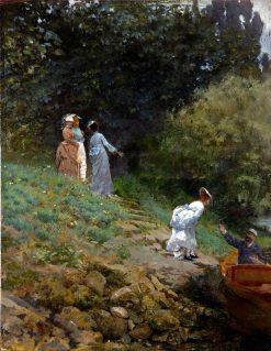 La Grenouillère | Giuseppe de Nittis | Oil Painting