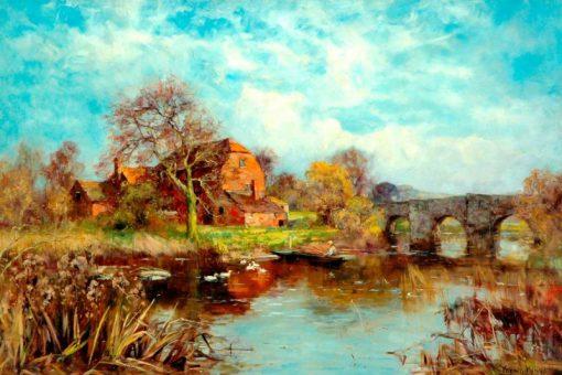 Summer by the Lake | Henry John Yeend King | Oil Painting