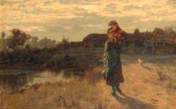 The Water Carrier   Henry John Yeend King   Oil Painting