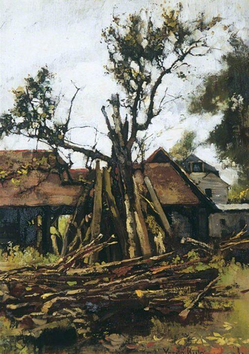 The Woodyard | Henry John Yeend King | Oil Painting