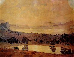 The Harbor | Maximilian Voloshin | Oil Painting