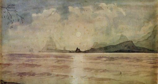 Moonlight | Maximilian Voloshin | Oil Painting