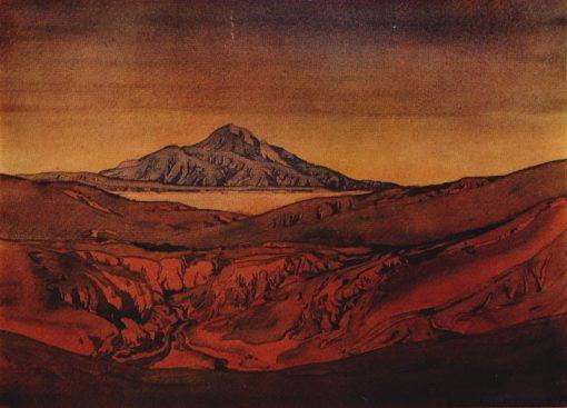 Red Hills | Maximilian Voloshin | Oil Painting
