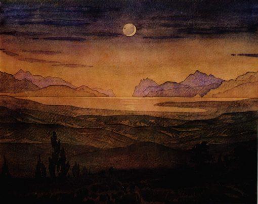 Moonlit Night | Maximilian Voloshin | Oil Painting