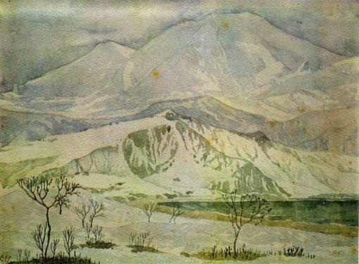Hills | Maximilian Voloshin | Oil Painting