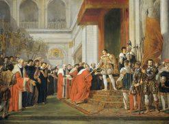 The Union of Utrecht | Joseph-Denis Odevaere | Oil Painting