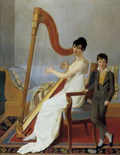 Portrait of a Lady | Joseph-Denis Odevaere | Oil Painting