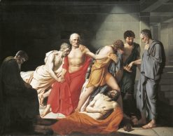 The Death of Phocion | Joseph-Denis Odevaere | Oil Painting