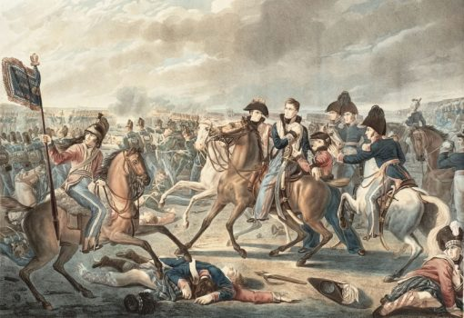 The injury to the Prince of Orange at Waterloo   Joseph-Denis Odevaere   Oil Painting