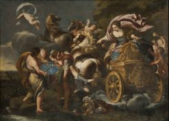Armida Abducts Rinaldo | Andrea Camassei | Oil Painting