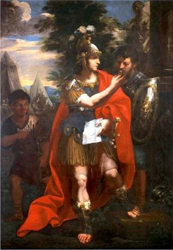 Alexander and Hephaestion   Andrea Camassei   Oil Painting