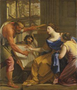 Artemisia Building the Mausolaeum | Simon Vouet | Oil Painting