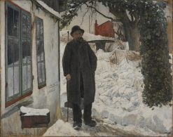 At the Old House | Lauritz Andersen | Oil Painting