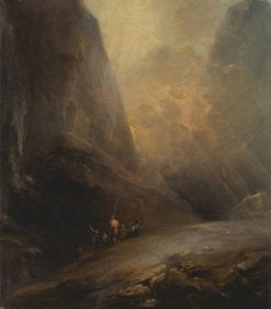 Mountain Landscape with Banditti | Elias Martin | Oil Painting