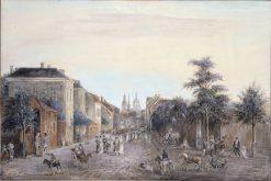 Drottninggatan | Elias Martin | Oil Painting